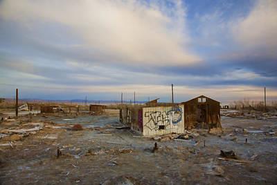 Abandoned Home Salton Sea Print by Hugh Smith