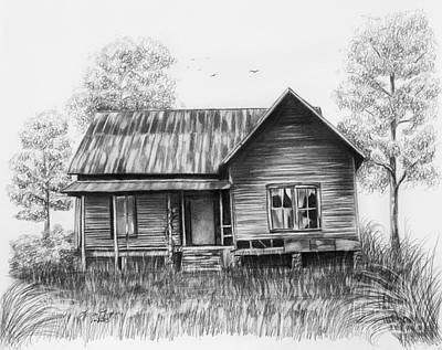 Abandoned House Print by Lena Auxier