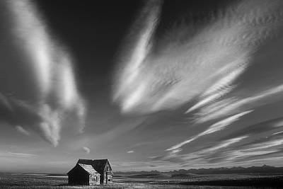 Abandoned In Alberta Print by Inge Riis McDonald
