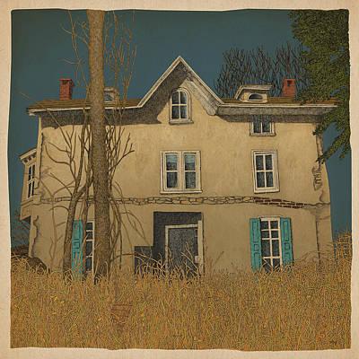 Old Mixed Media - Abandoned by Meg Shearer