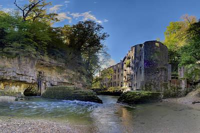 Abandoned Plant Along Valserine River Print by Patrick Jacquet
