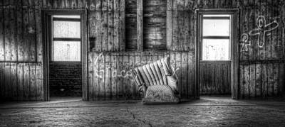 Empty Chairs Photograph - Grace by Scott Norris