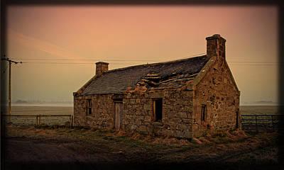 Liz Alderdice Photograph - Abandoned Scottish Croft by Liz  Alderdice