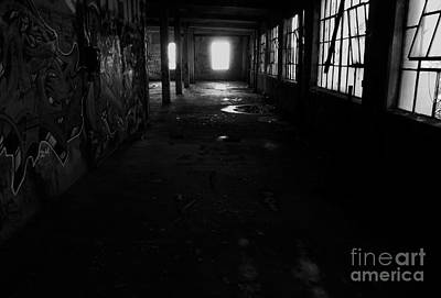 Abandoned Space I - Bw Print by James Aiken