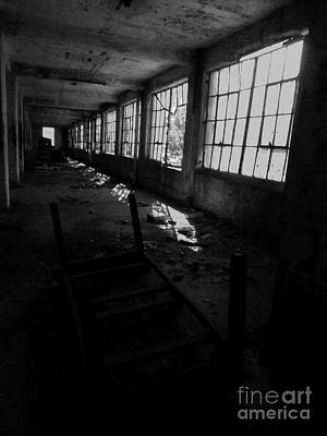 Abandoned Space IIi - Bw Print by James Aiken
