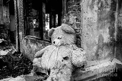 Abandoned Teddy Bear II Print by Dean Harte