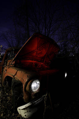 Old Truck Photograph - Abandoned Truck by Cale Best
