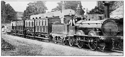 1866 Photograph - Abbey Line by Cci Archives