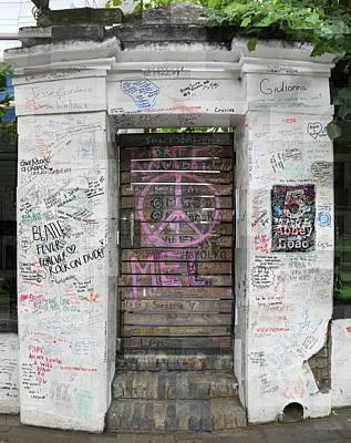 Abbey Road Graffiti Original by Stephen Farley