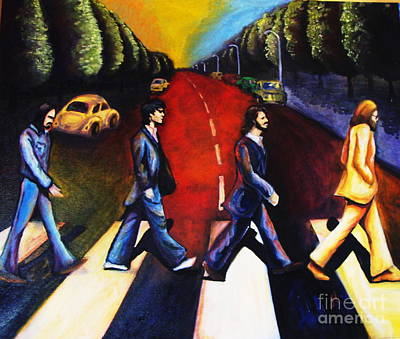 Abbey Road Painting - Abbey Road  by Jamie Howes