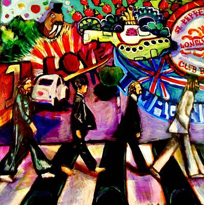 Abbey Road Painting - Abbey Roads by Kimberly Dawn Clayton