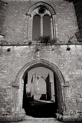 Abbey Ruin  Print by Olivier Le Queinec