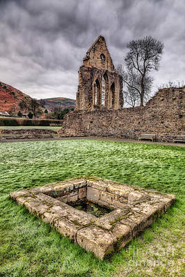 Abbey Well Print by Adrian Evans