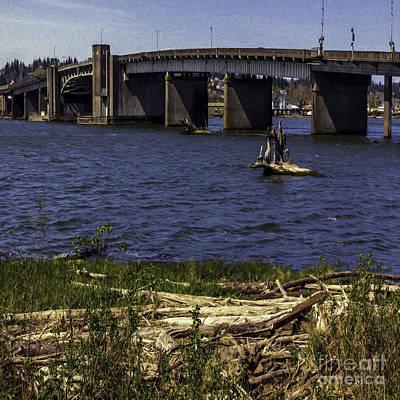 Aberdeen Bascule Bridge Print by Jean OKeeffe Macro Abundance Art