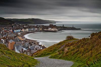 Izzy Photograph - Aberystwyth From Consti by Izzy Standbridge