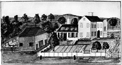 First-lady Drawing - Abigail Adams Home by Granger