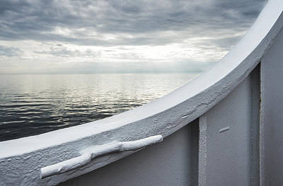 St. Laurent Photograph - Aboard The Ferry by Arkady Kunysz
