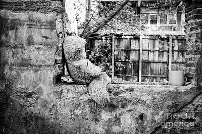Abandoned Teddy Bear I Print by Dean Harte
