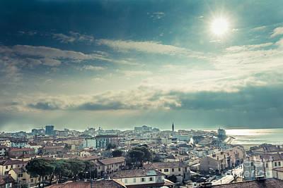 Birdseye Photograph - Above Grado by Hannes Cmarits