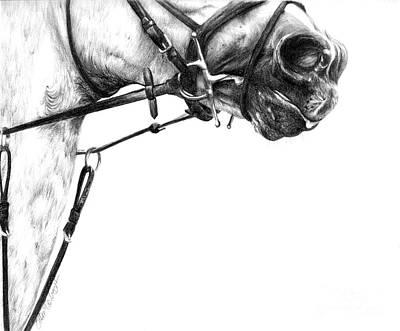 Above The Bit Print by Sheona Hamilton-Grant
