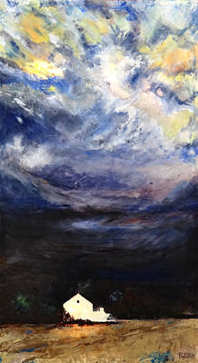 Beach Landscape Mixed Media - Above The Storm by Patty Kingsley