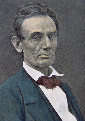 Abraham Lincoln Print by American Photographer