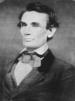 Politicians Photograph - Abraham Lincoln by Anonymous