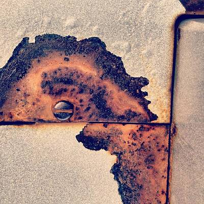 Abstract Photograph - Absract Rust by Christy Beckwith