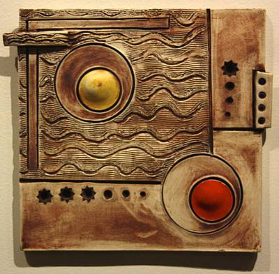 Abstract 1 Print by Dan Earle