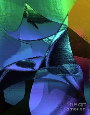 Abstract 1006 Print by Gerlinde Keating - Galleria GK Keating Associates Inc