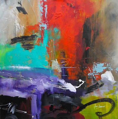 Gino Painting - Abstract 110-2 by Gino Savarino
