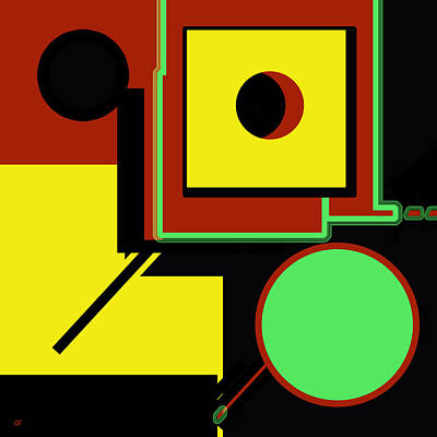 Abstract Digital Art - Abstract 2015 by Gerlinde Keating - Keating Associates Inc