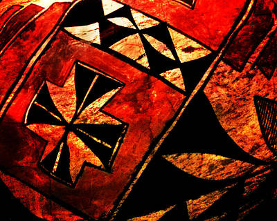 Abstract 68a Print by Timothy Bulone