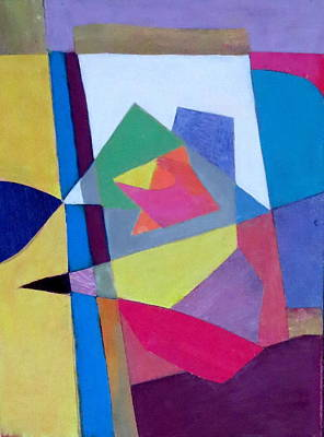 Mixed Media - Abstract Angles II by Diane Fine