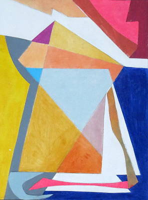 Mixed Media - Abstract Angles IIi by Diane Fine