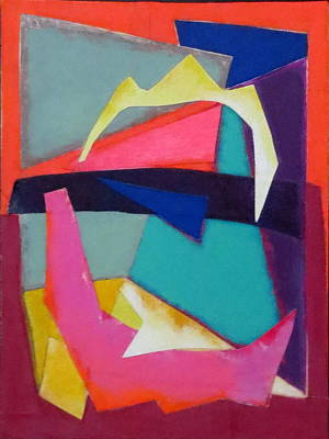 Mixed Media - Abstract Angles Iv by Diane Fine