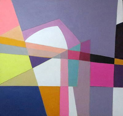 Mixed Media - Abstract Angles Ix by Diane Fine