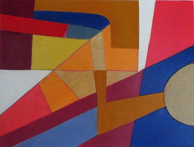 Mixed Media - Abstract Angles Viii by Diane Fine