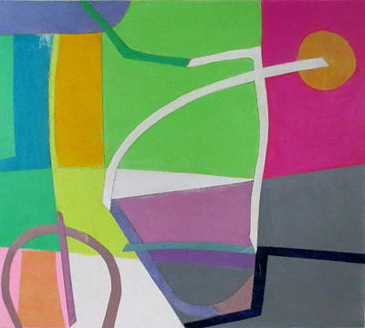 Mixed Media - Abstract Angles X by Diane Fine