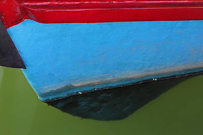 Abstract Boat Bow Print by Juergen Roth