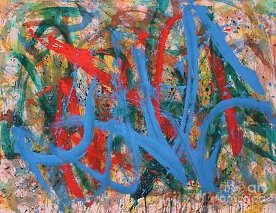 Abstract Christine Print by Huu Phuoc Tran