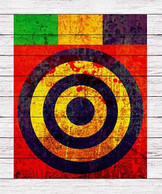 Rectangles Digital Art - Abstract Circles by Gary Grayson