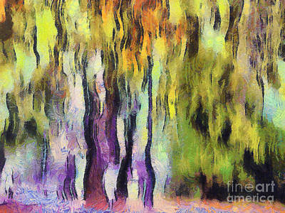 Abstract Colors Print by Odon Czintos