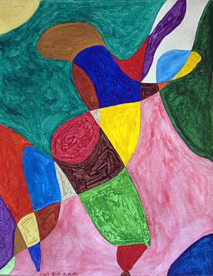 Spirit Dancers Original by Stormm Bradshaw