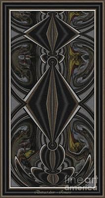 Abstract Door  Ad000002 Print by Pemaro