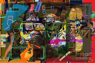 Tzaddik Digital Art -  Tefilla Without Cavona 7b M by David Baruch Wolk