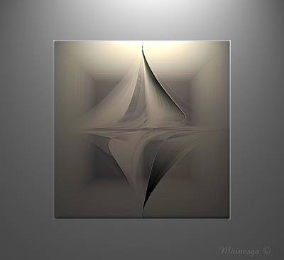 Abstract Duet Print by Ines Garay-Colomba