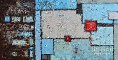 Abstract - Finding My Way Print by Patricia Awapara
