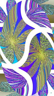 Amalgamation Digital Art - Abstract Fusion 203 by Will Borden