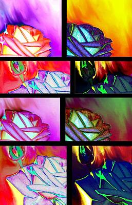 Abstract Fusion 214 Print by Will Borden